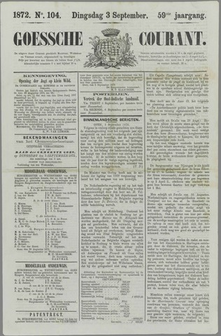 Goessche Courant 1872-09-03