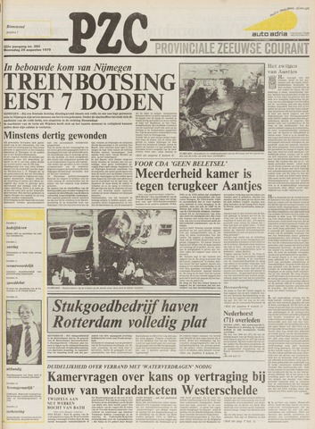 Provinciale Zeeuwse Courant 1979-08-29