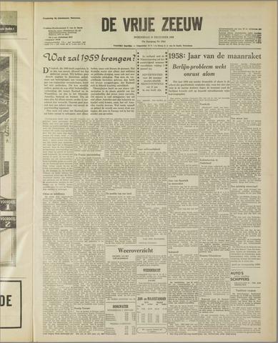 de Vrije Zeeuw 1958-12-31