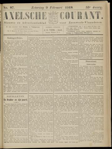 Axelsche Courant 1918-02-09