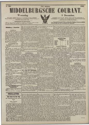 Middelburgsche Courant 1902-12-03