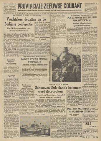 Provinciale Zeeuwse Courant 1954-02-04