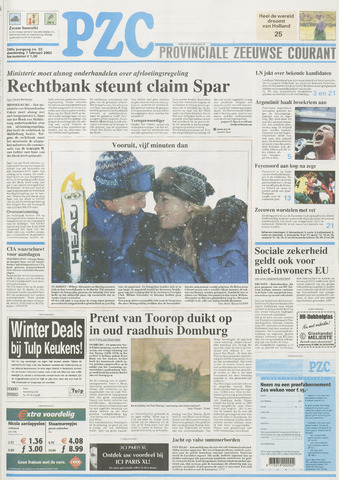 Provinciale Zeeuwse Courant 2002-02-07