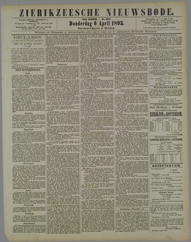 Zierikzeesche Nieuwsbode 1893-04-06