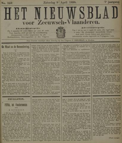 Nieuwsblad voor Zeeuwsch-Vlaanderen 1898-04-09