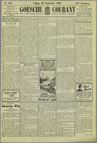 Goessche Courant 1927-09-30