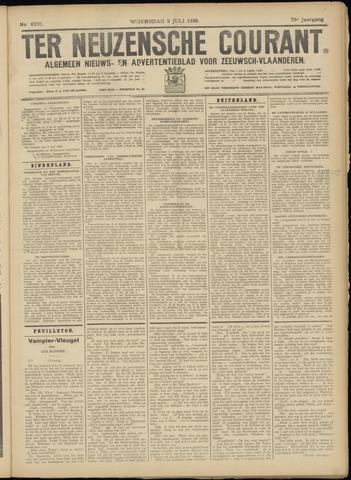 Ter Neuzensche Courant. Algemeen Nieuws- en Advertentieblad voor Zeeuwsch-Vlaanderen / Neuzensche Courant ... (idem) / (Algemeen) nieuws en advertentieblad voor Zeeuwsch-Vlaanderen 1930-07-09