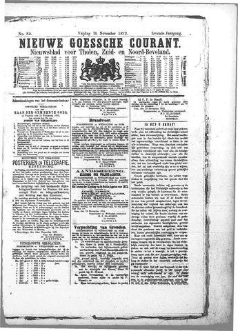 Nieuwe Goessche Courant 1872-11-15