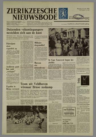 Zierikzeesche Nieuwsbode 1975-07-14