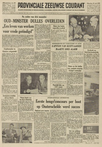 Provinciale Zeeuwse Courant 1959-05-25