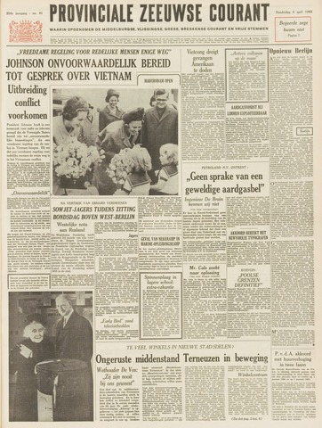 Provinciale Zeeuwse Courant 1965-04-08