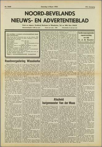 Noord-Bevelands Nieuws- en advertentieblad 1954-03-06