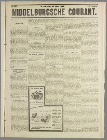 Middelburgsche Courant 1925-05-13