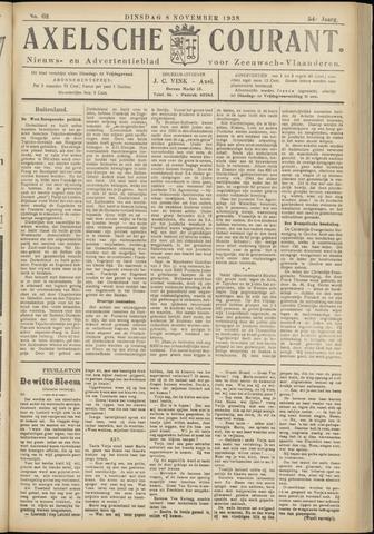 Axelsche Courant 1938-11-08