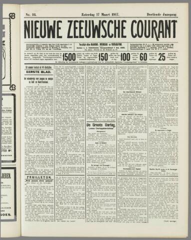 Nieuwe Zeeuwsche Courant 1917-03-17