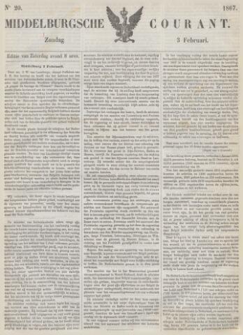 Middelburgsche Courant 1867-02-03