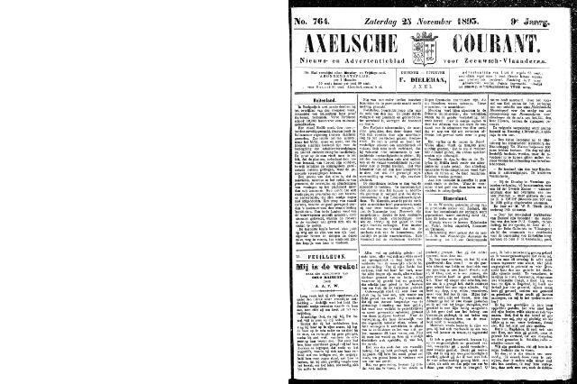 Axelsche Courant 1893-11-25