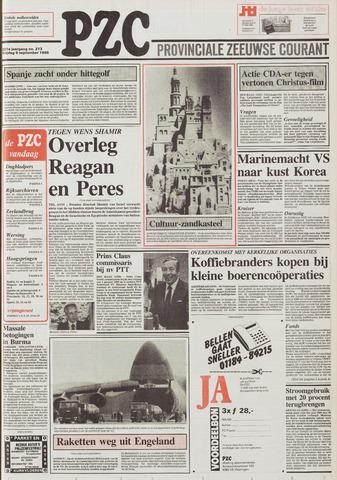 Provinciale Zeeuwse Courant 1988-09-09