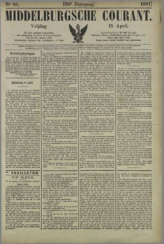 Middelburgsche Courant 1887-04-15