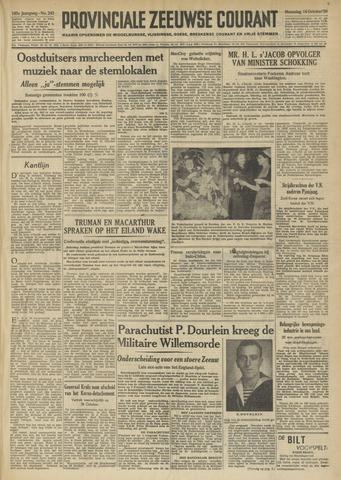 Provinciale Zeeuwse Courant 1950-10-16
