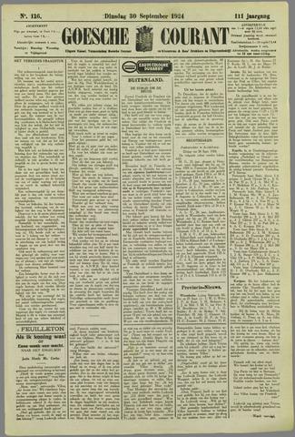 Goessche Courant 1924-09-30