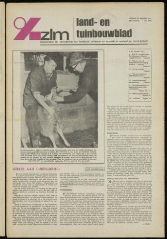 Zeeuwsch landbouwblad ... ZLM land- en tuinbouwblad 1975-01-24