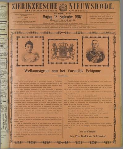 Zierikzeesche Nieuwsbode 1907-09-13
