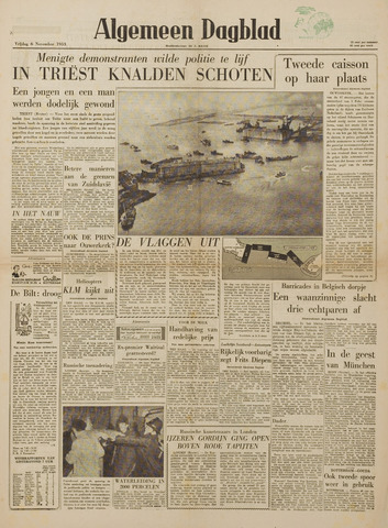 Watersnood documentatie 1953 - kranten 1953-11-06