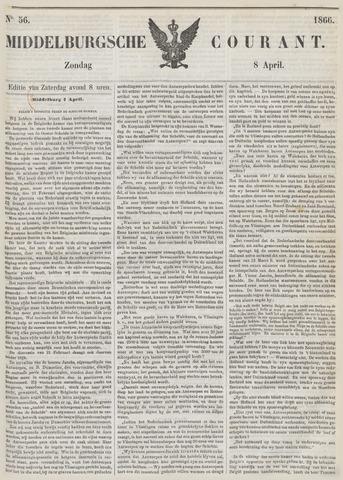 Middelburgsche Courant 1866-04-08