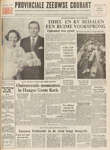 Provinciale Zeeuwse Courant 1967-09-04