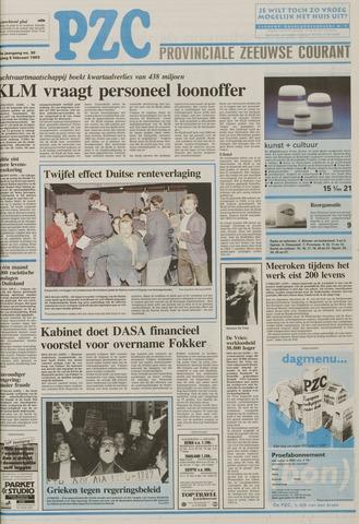 Provinciale Zeeuwse Courant 1993-02-05