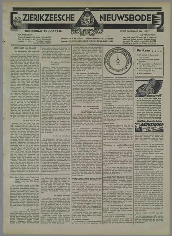 Zierikzeesche Nieuwsbode 1936-07-23