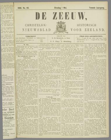 De Zeeuw. Christelijk-historisch nieuwsblad voor Zeeland 1888-05-01
