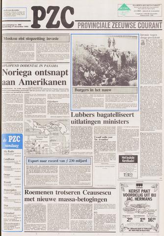 Provinciale Zeeuwse Courant 1989-12-21