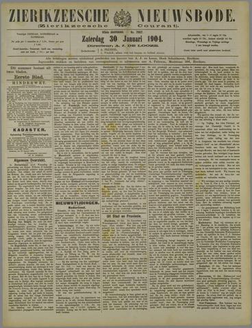 Zierikzeesche Nieuwsbode 1904-01-30