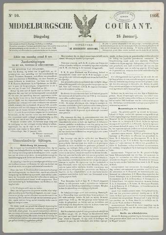 Middelburgsche Courant 1860-01-24
