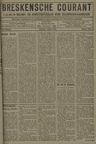 Breskensche Courant 1922-01-07