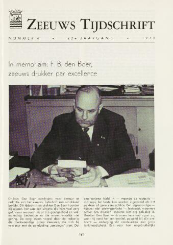 Zeeuws Tijdschrift 1972-07-01