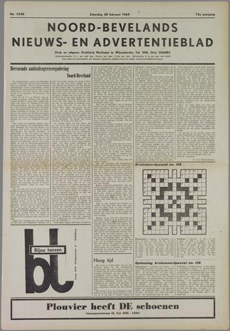 Noord-Bevelands Nieuws- en advertentieblad 1969-02-28