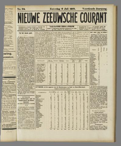 Nieuwe Zeeuwsche Courant 1918-07-06