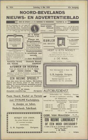 Noord-Bevelands Nieuws- en advertentieblad 1936-05-09