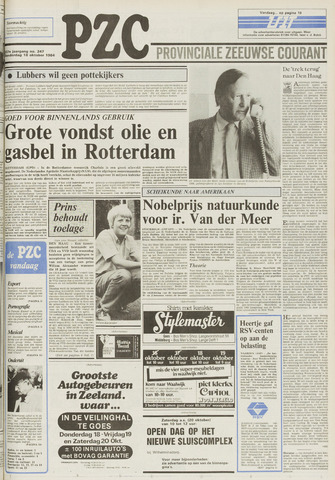 Provinciale Zeeuwse Courant 1984-10-18