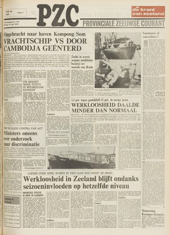 Provinciale Zeeuwse Courant 1975-05-13