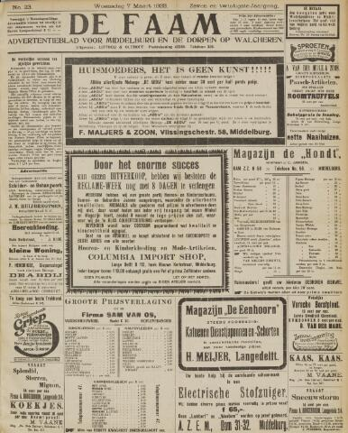 de Faam en de Faam/de Vlissinger 1923-03-07
