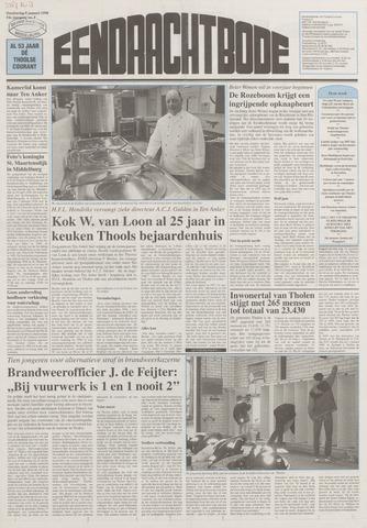 Eendrachtbode (1945-heden)/Mededeelingenblad voor het eiland Tholen (1944/45) 1998