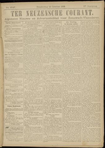 Ter Neuzensche Courant. Algemeen Nieuws- en Advertentieblad voor Zeeuwsch-Vlaanderen / Neuzensche Courant ... (idem) / (Algemeen) nieuws en advertentieblad voor Zeeuwsch-Vlaanderen 1918-10-10