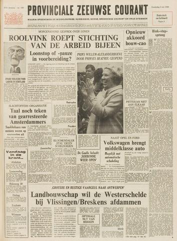 Provinciale Zeeuwse Courant 1968-05-09