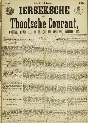 Ierseksche en Thoolsche Courant 1893-01-14