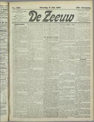 De Zeeuw. Christelijk-historisch nieuwsblad voor Zeeland 1918-07-09