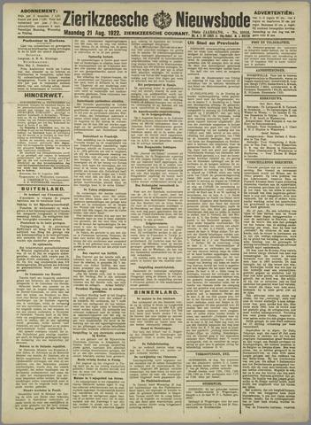 Zierikzeesche Nieuwsbode 1922-08-21